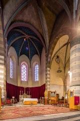 Cathédrale Saint-Jérôme - Français:  Chœur de la cathédrale Saint-Jérôme de Digne-les-Bains (France).