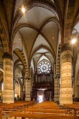 Cathédrale Saint-Jérôme - Français:  Nef de la cathédrale Saint-Jérôme de Digne-les-Bains (France).