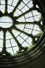 Cathédrale  dite église Notre-Dame-du-Bourg - Français:   Détail de la rosace à l\'intérieur de la Cathédrale Notre Dame du Bourg à Digne-les-Bains. Alpes de Haute-Provence