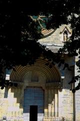 Cathédrale  dite église Notre-Dame-du-Bourg - Français:   Façade de la cathédrale Notre-Dame-du-Bourg à Digne les bains