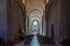 Cathédrale  dite église Notre-Dame-du-Bourg - Français:  Nef de la cathédrale Notre-Dame-du-Bourg de Digne-les-Bains (France).