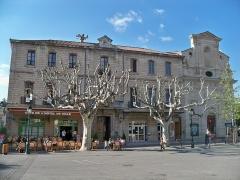 Collège - Français:   chapelle de l\'ancien collège de Forcalquier