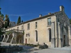Couvent des Cordeliers (restes de l'ancien) - Français:   Chapelle du couvent des cordeliers de Forcalquier (04), actellement siège de la Férédétion des Bistrots de Pays