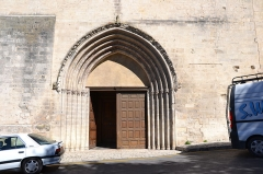 Eglise Notre-Dame-du-Bourguet - Français:   Cathédrale Notre-Dame-du-Bourguet (Classé)