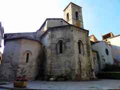 Eglise Notre-Dame-de-Romigier - Français:   Arrière Notre Dame de Romigier à Manosque