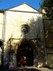 Eglise Notre-Dame-de-Romigier - Français:   Façade Notre Dame de Romigier à Manosque