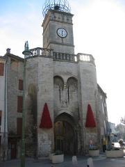 Porte Soubeyran -  Manosque, en Provence (Alpes-de-Haute-Provence, France)   Porte de Soubeyran (1830)