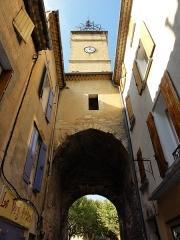 Porte Soubeyran - Français:   Arrière Porte Soubeyran de Manosque