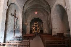 Chapelle Notre-Dame de Beauvoir - Français:   Intérieur de la chapelle Notre-Dame de Beauvoir, Moustiers-Sainte-Marie