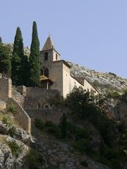 Chapelle Notre-Dame de Beauvoir - Français:   Chapelle Notre Dame de Beauvoir, Moustiers-Sainte-Marie, Alpes-de-Haute-Provence