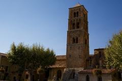 Eglise - Français:   Église de Moustiers-Sainte-Marie