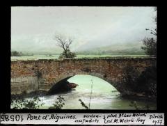 Pont d'Aiguines sur le Verdon -