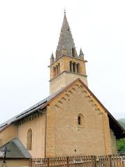 Eglise - Français:   Église Saint-Pons à Saint-Pons (Alpes-de-Haute-Provence) - Chevet