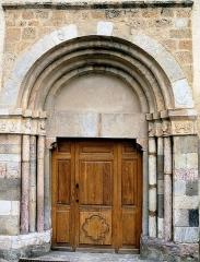 Eglise - Français:   Église Saint-Pons à Saint-Pons (Alpes-de-Haute-Provence) - Portail principal