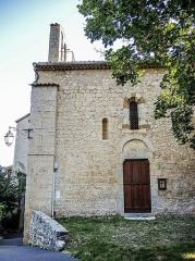 Chapelle Saint-Marcel - Français:   Chapelle Saint-Marcel. la Baume, Sisteron.