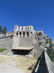 Citadelle - Français:   Sisteron, la citadelle
