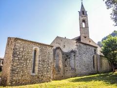 Eglise des Dominicains de la Baume - Français:   Ancienne abbaye Saint-Dominique. La Baume, Sisteron.