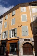 Maison - Français:   Hôtel d\'Ornano, Sisteron.