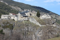 Fort de Château-Queyras - This building is indexed in the Base Mérimée, a database of architectural heritage maintained by the French Ministry of Culture, under the reference PA00080549 .