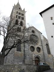 Eglise Notre-Dame (ancienne cathédrale) - Français:   Cathédrale Notre-Dame du Réal. Embrun
