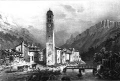 Eglise du Casset - French painter, illustrator, photographer and lithographer