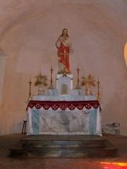 Prieuré - Prieuré,  (Classé Inscrit Classé, 1925 1986 1987): autel église