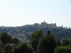 Château Grimaldi ou château de Cagnes - English: View of Cagnes-sur-Mer