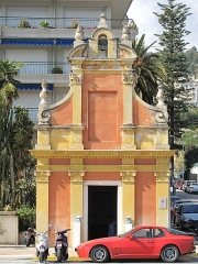 Chapelle Saint-Jacques - English: Chapel Saint-Jacques in Menton (Alpes-Maritimes, France)