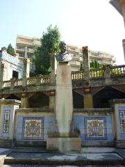 Jardin des Romanciers ou Fontana Rosa - Russian sculptor