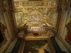 Cathédrale Sainte-Reparate - Français:   Nice, cathédrale Sainte Réparate, fresques du plafond.