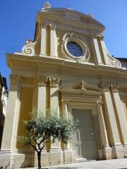 Chapelle Sainte-Croix dite chapelle des Pénitents Blancs - Français:   Chapelle Sainte-Croix de Nice, (Alpes-Maritimes, France)