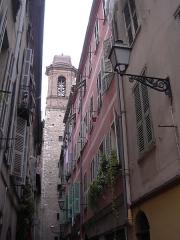 Eglise Saint-Jacques-le-Majeur dite du Gésu - Français:   ou Eglise du Gésu - le clocher