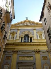 Eglise Saint-Jacques-le-Majeur dite du Gésu - Français:   Église Saint-Jacques-le-Majeur de Nice (Alpes-Maritimes, France)