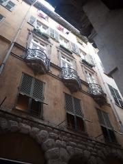 Immeuble - Français:   Immeuble du 14 rue Droite, Nice