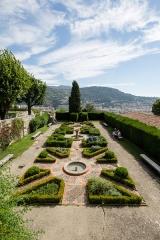 Monastère franciscain de Cimiez - Français:  Le jardin du monastère de Cimiez à Nice (France).