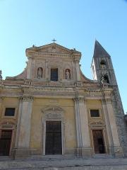 Eglise Saint-Michel - Français:   Façade principale de la Cocathédrale Saint-Michel de Sospel