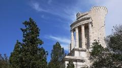 Ruines du Trophée d'Auguste, actuellement Musée du Trophée d'Auguste - English: The Tropaeum Alpium at La Turbie (Alpes-Maritimes, France)