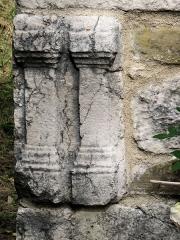 Chapelle Saint-Léonce (vestiges) - Français:   Valderoure - Chapelle Saint-Léonce - Pierres de récupération