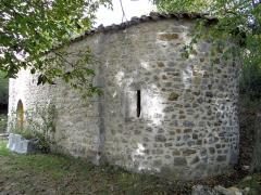 Chapelle Saint-Léonce (vestiges) - Français:   Valderoure - Chapelle Saint-Léonce - Vue du chevet