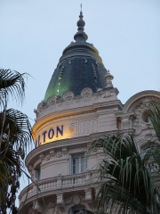 Hôtel Carlton - English: One of the Carlton Cannes hotel's domes