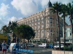 Hôtel Carlton - English: InterContinental-Carlton in Cannes, France