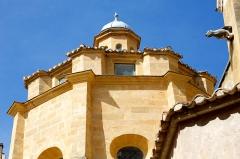 Cathédrale Saint-Sauveur - Français:   Détail Cathédrale Saint-Sauveur Aix-en-Provence, sommet du baptistère octogonale