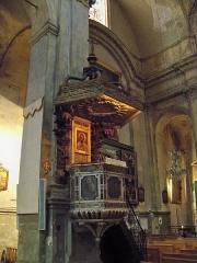 Eglise Saint-Esprit - Français:   Chaire de l\'église du Saint-Esprit, Aix-en-Provence.