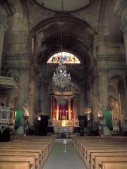 Eglise Saint-Esprit - Français:   Nef de l\'église du Saint Esprit, Aix-en-Provence