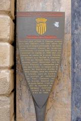 Fontaine des Bagniers - Français:   Information sur la fontaine des Bagniers à Aix en Provence (Bouches du Rhône, France).