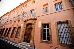 Hôtel Boyer de Bandol ou de Castillon - Façade de l'Hôtel de Castillon