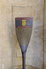 Hôtel Boyer d'Eguilles - Français:   Panneau d\'information de l\'Hôtel Boyer d\'Éguilles à Aix en Provence (Bouches du Rhône, France).