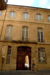 Hôtel Boyer de Fonscolombe dit aussi de Saporta ou de Vitrolles - Français:   Aix-en-Provence