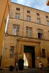 Hôtel de Châteaurenard - Français:   Aix-en-Provence