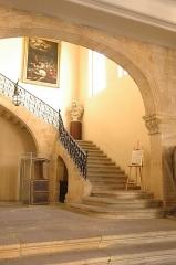 Hôtel d'Estienne de Saint-Jean, actuellement Musée du Vieil Aix - Français:   Hall d\'entrée de l\'hôtel d\'Estienne-de-Saint-Jean, 17, rue Gaston-de-Saporta, à Aix-en-Provence